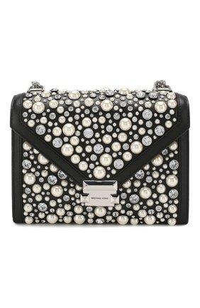 Женская сумка whitney MICHAEL MICHAEL KORS черного цвета, арт. 30H9SWHL9L   Фото 1