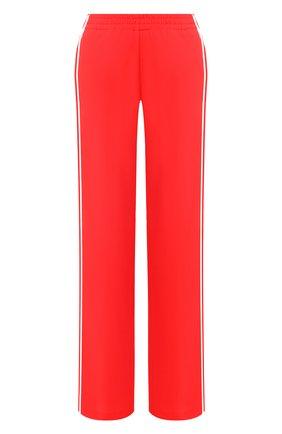 Женские брюки ERMANNO ERMANNO SCERVINO красного цвета, арт. 46T PL19 GIS   Фото 1