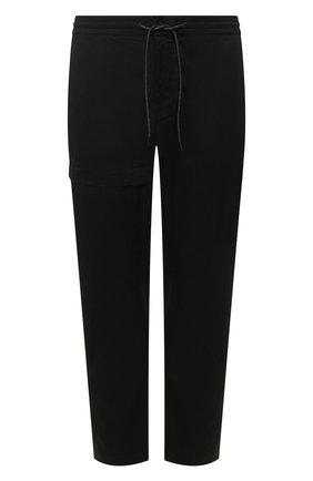 Мужской хлопковые брюки Z ZEGNA черного цвета, арт. VU142/ZZ395 | Фото 1