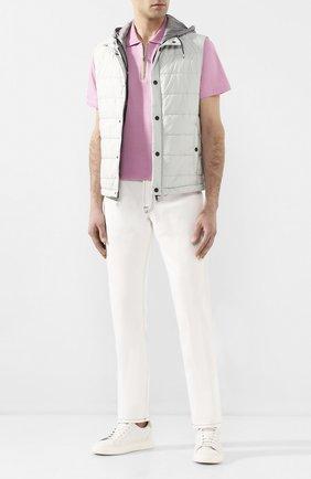 Мужские джинсы CORNELIANI белого цвета, арт. 854JK2-0120160/00 | Фото 2