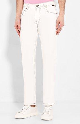 Мужские джинсы CORNELIANI белого цвета, арт. 854JK2-0120160/00 | Фото 3