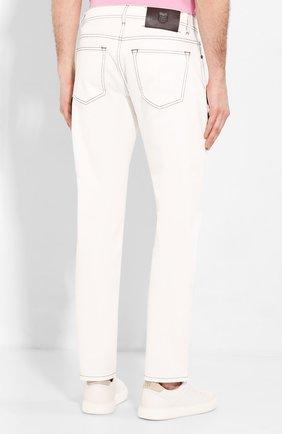 Мужские джинсы CORNELIANI белого цвета, арт. 854JK2-0120160/00 | Фото 4