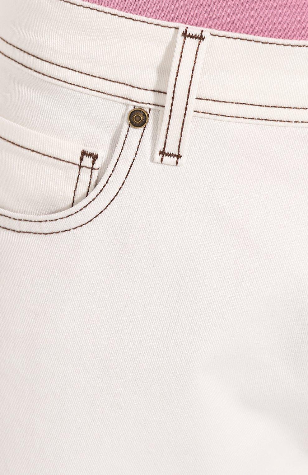 Мужские джинсы CORNELIANI белого цвета, арт. 854JK2-0120160/00 | Фото 5