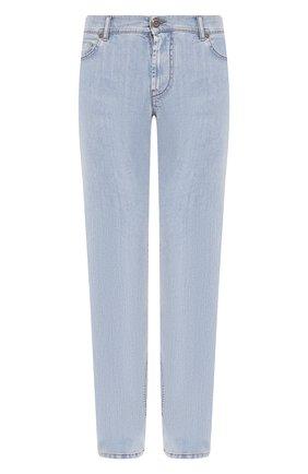 Мужские джинсы CORNELIANI голубого цвета, арт. 854JK2-0120158/00 | Фото 1