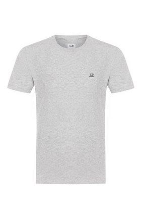 Мужская хлопковая футболка C.P. COMPANY серого цвета, арт. 08CMTS108A-005100W | Фото 1