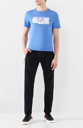 Мужской брюки C.P. COMPANY темно-синего цвета, арт. 08CMPA229A-005148G | Фото 2