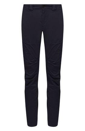 Мужской хлопковые брюки C.P. COMPANY темно-синего цвета, арт. 08CMPA210A-005694G | Фото 1