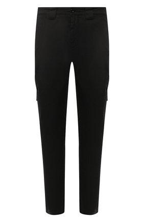 Мужской хлопковые брюки-карго C.P. COMPANY черного цвета, арт. 08CMPA209A-005694G | Фото 1