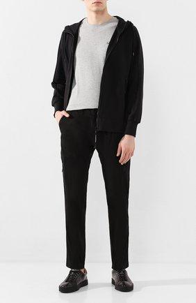 Мужской хлопковые брюки-карго C.P. COMPANY черного цвета, арт. 08CMPA209A-005694G | Фото 2