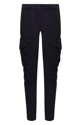 Мужской хлопковые брюки-карго C.P. COMPANY темно-синего цвета, арт. 08CMPA119A-005694G | Фото 1