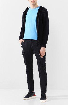 Мужской хлопковые брюки-карго C.P. COMPANY темно-синего цвета, арт. 08CMPA119A-005694G | Фото 2