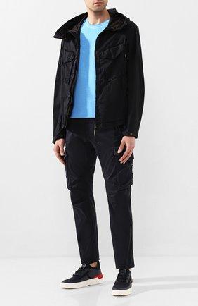 Мужская куртка C.P. COMPANY темно-синего цвета, арт. 08CM0W095A-005670G | Фото 2