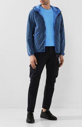 Мужская утепленная куртка C.P. COMPANY голубого цвета, арт. 08CM0W044A-005660G | Фото 2