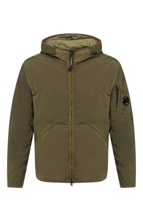 Мужская утепленная куртка C.P. COMPANY хаки цвета, арт. 08CM0W044A-005660G | Фото 1