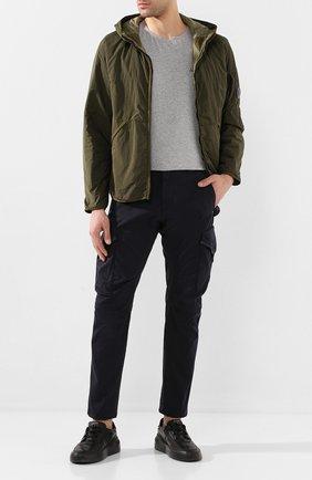 Мужская утепленная куртка C.P. COMPANY хаки цвета, арт. 08CM0W044A-005660G | Фото 2