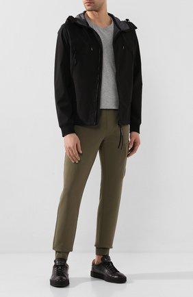 Мужская куртка C.P. COMPANY черного цвета, арт. 08CM0W017A-005659A | Фото 2