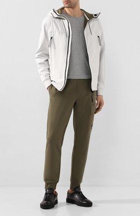 Мужская куртка C.P. COMPANY белого цвета, арт. 08CM0W017A-005659A | Фото 2