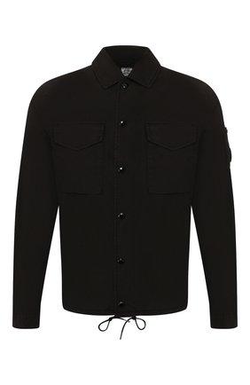 Мужская хлопковая куртка C.P. COMPANY черного цвета, арт. 08CM0S028A-005153G | Фото 1