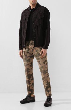 Мужская хлопковая куртка C.P. COMPANY черного цвета, арт. 08CM0S028A-005153G | Фото 2
