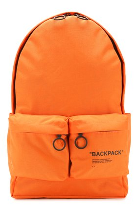 Мужской текстильный рюкзак OFF-WHITE оранжевого цвета, арт. 0MNB003R205210381910 | Фото 1