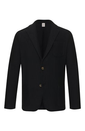 Мужской хлопковый пиджак ELEVENTY PLATINUM темно-синего цвета, арт. A76MAGA68 MAG0A065 | Фото 1