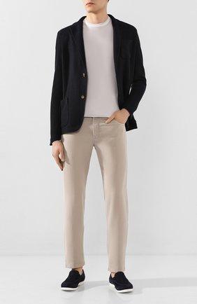 Мужской хлопковый пиджак ELEVENTY PLATINUM темно-синего цвета, арт. A76MAGA68 MAG0A065 | Фото 2