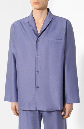 Мужская хлопковая пижама ZIMMERLI темно-синего цвета, арт. 4753-75012 | Фото 2