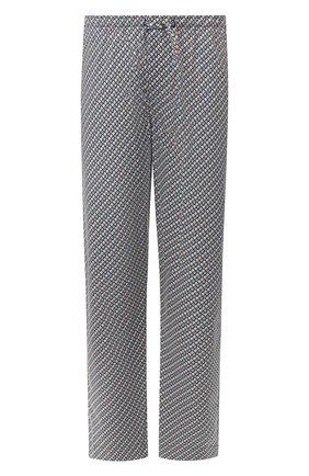 Мужские хлопковые домашние брюки ZIMMERLI разноцветного цвета, арт. 4752-75180   Фото 1