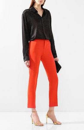 Женские брюки RALPH LAUREN оранжевого цвета, арт. 290788695   Фото 2