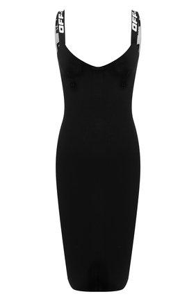 Женское платье OFF-WHITE черного цвета, арт. 0WHI022R20H330681000 | Фото 1