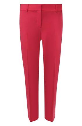 Женские шерстяные брюки THEORY фуксия цвета, арт. H0101234 | Фото 1