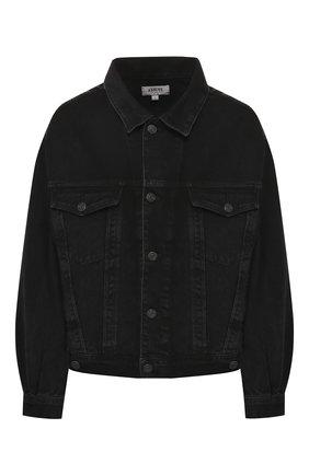 Женская джинсовая куртка AGOLDE серого цвета, арт. A5010-1157 | Фото 1
