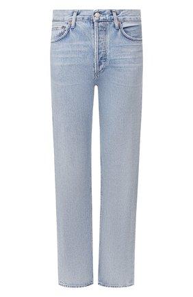 Женские джинсы AGOLDE голубого цвета, арт. A140B-1141 | Фото 1