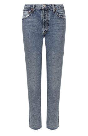 Женские джинсы AGOLDE голубого цвета, арт. A045-1206 | Фото 1