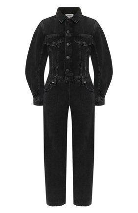Женский джинсовый комбинезон AGOLDE серого цвета, арт. A8011-1157 | Фото 1