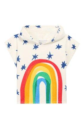 Детского пляжное пончо STELLA MCCARTNEY разноцветного цвета, арт. 596553/S0JE4 | Фото 1