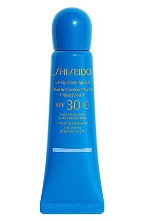 Женский солнцезащитный блеск для губ suncare spf30, оттенок tahiti blue SHISEIDO бесцветного цвета, арт. 14192SH | Фото 1