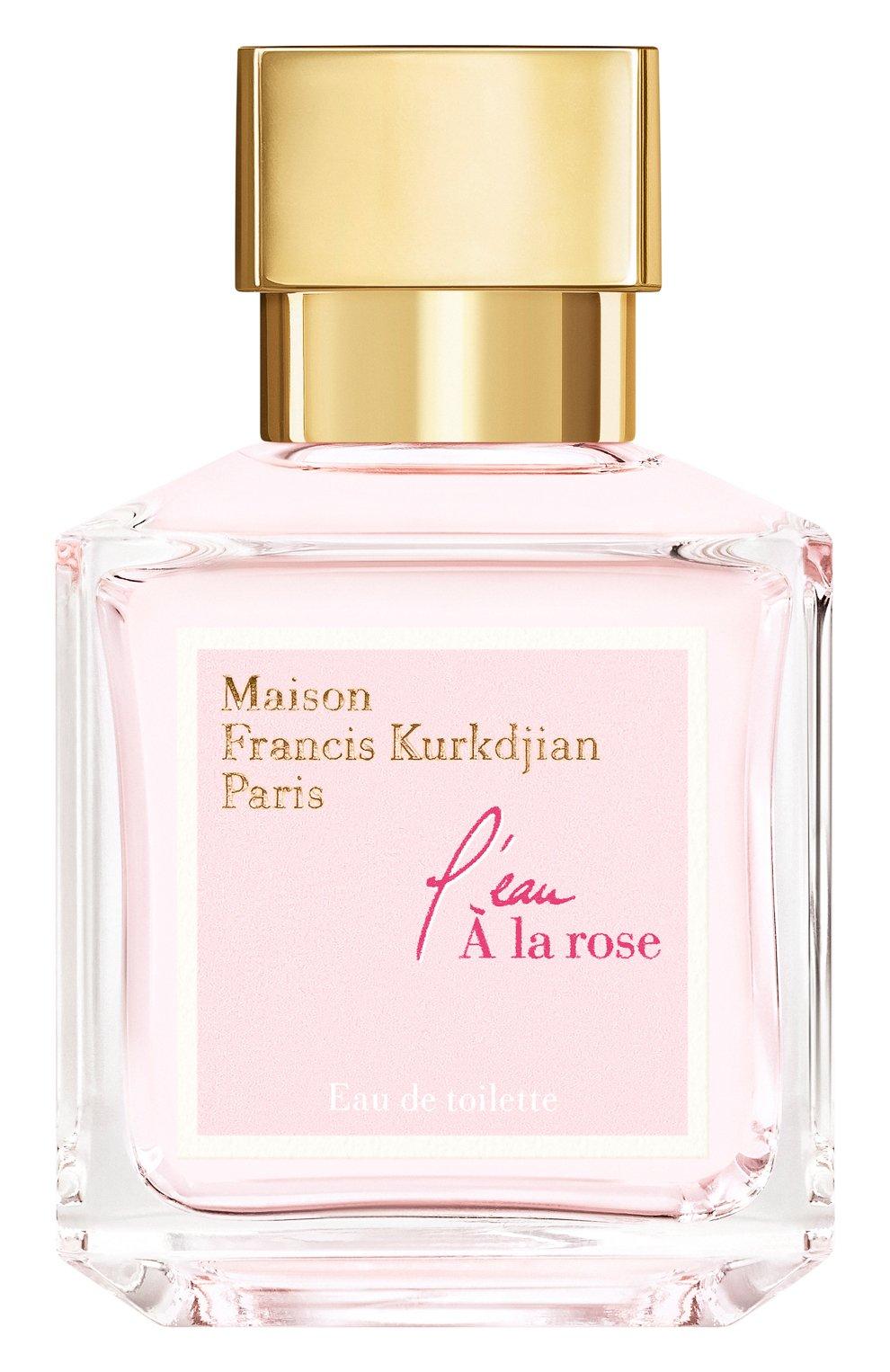 Туалетная вода l'eau à la rose MAISON FRANCIS KURKDJIAN бесцветного цвета, арт. 1033002 | Фото 1 (Ограничения доставки: flammable)