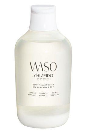 Женского смарт-вода 3 в 1: очищение, увлажнение, подготовка waso SHISEIDO бесцветного цвета, арт. 15997SH | Фото 1