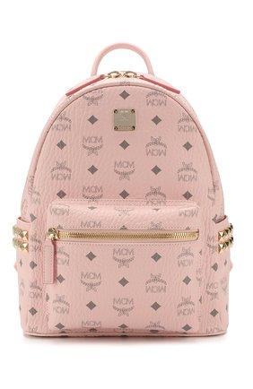 Женский рюкзак stark MCM розового цвета, арт. MMK 6SVE37 | Фото 1