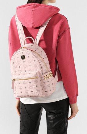 Женский рюкзак stark MCM розового цвета, арт. MMK 6SVE37 | Фото 2