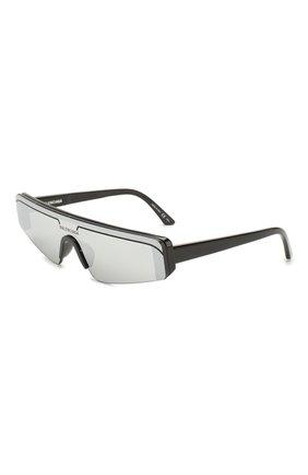 Мужские солнцезащитные очки BALENCIAGA черного цвета, арт. 570483/T0001 | Фото 1