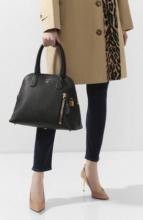 Женская сумка alix medium TOM FORD черного цвета, арт. L1280T-LBU001   Фото 2