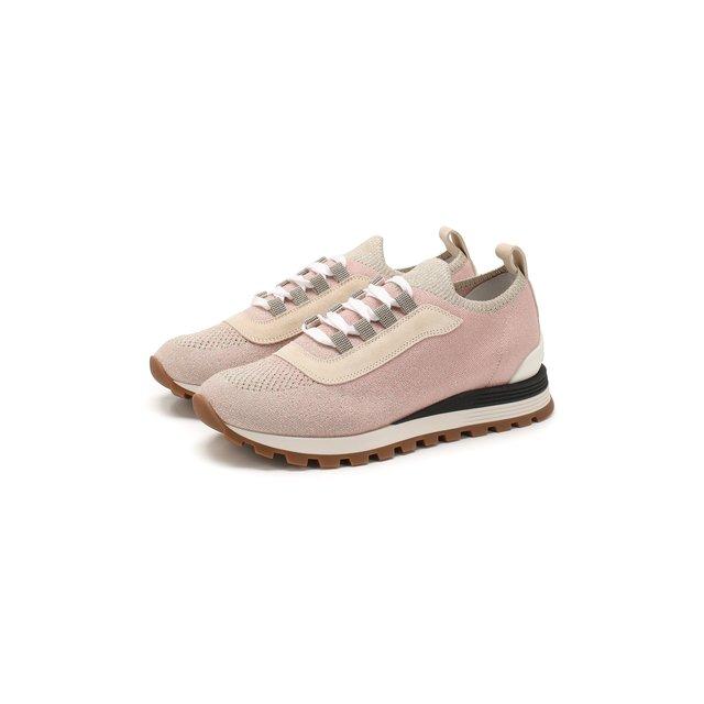 Текстильные кроссовки Brunello Cucinelli — Текстильные кроссовки