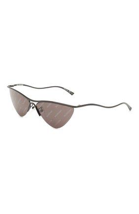 Мужские солнцезащитные очки BALENCIAGA черного цвета, арт. 609380/T0005 | Фото 1