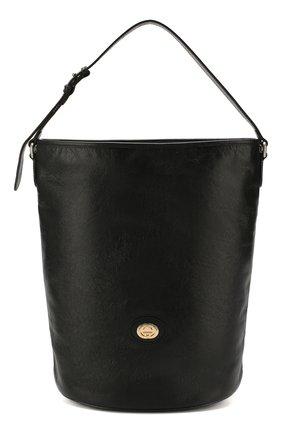 Женская сумка morpheus GUCCI черного цвета, арт. 598086/1GZ0X | Фото 1