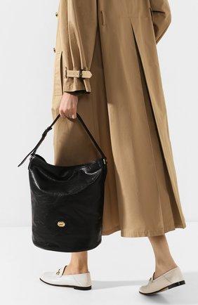 Женская сумка morpheus GUCCI черного цвета, арт. 598086/1GZ0X | Фото 2