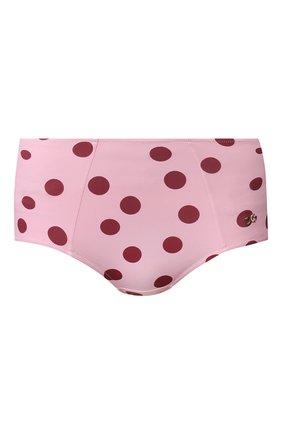 Женский плавки-бикини DOLCE & GABBANA розового цвета, арт. 02A16J/FSGSI   Фото 1