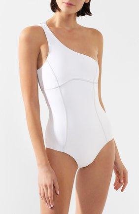 Женский слитный купальник OFF-WHITE белого цвета, арт. 0WFA027R207650680100 | Фото 2