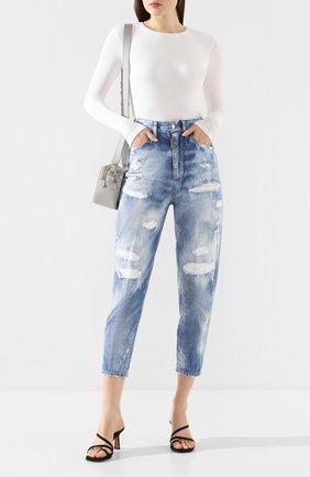 Женские джинсы DSQUARED2 синего цвета, арт. S72LB0305/S30309 | Фото 2